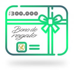 Bono de regalo $300.000