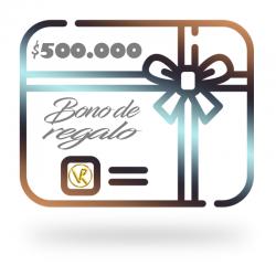 Bono de regalo $500.000