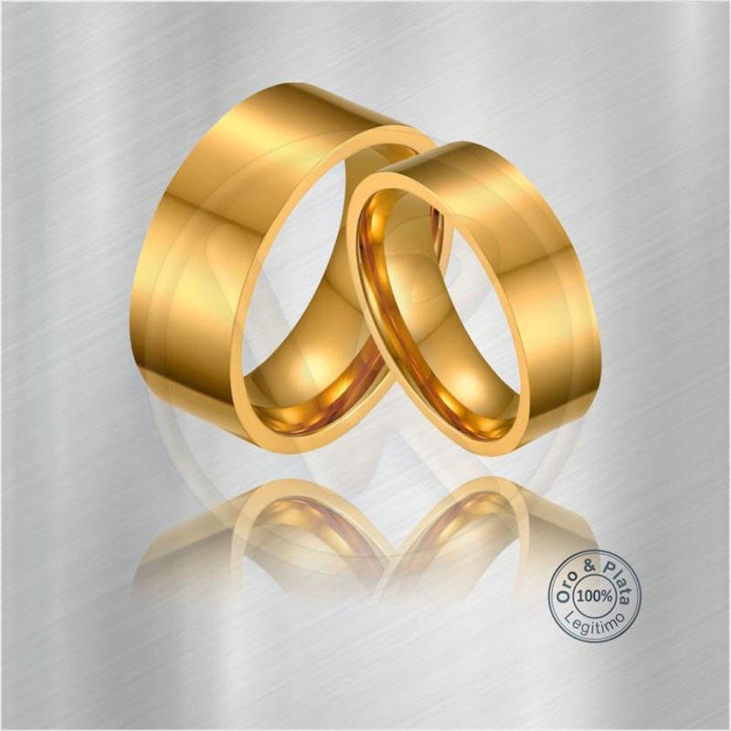 6b158ed8723a Argollas para matrimonio COMPÁS Lisas Planas Confort en Oro o Plata de Ley  Genuinos en Bogotá con certificado de legitimidad