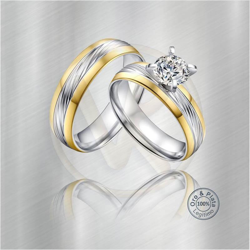 82a761bcb8be8 Argollas De Matrimonio Oro O Plata   Argollas cruz del sur matrimonio  diamante oro o plata