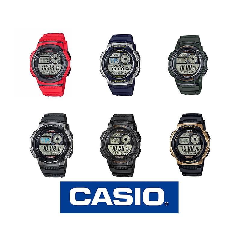 693ca66a4c4a Reloj CASIO sport original AE1000W para jóvenes y hombres en 6 colores