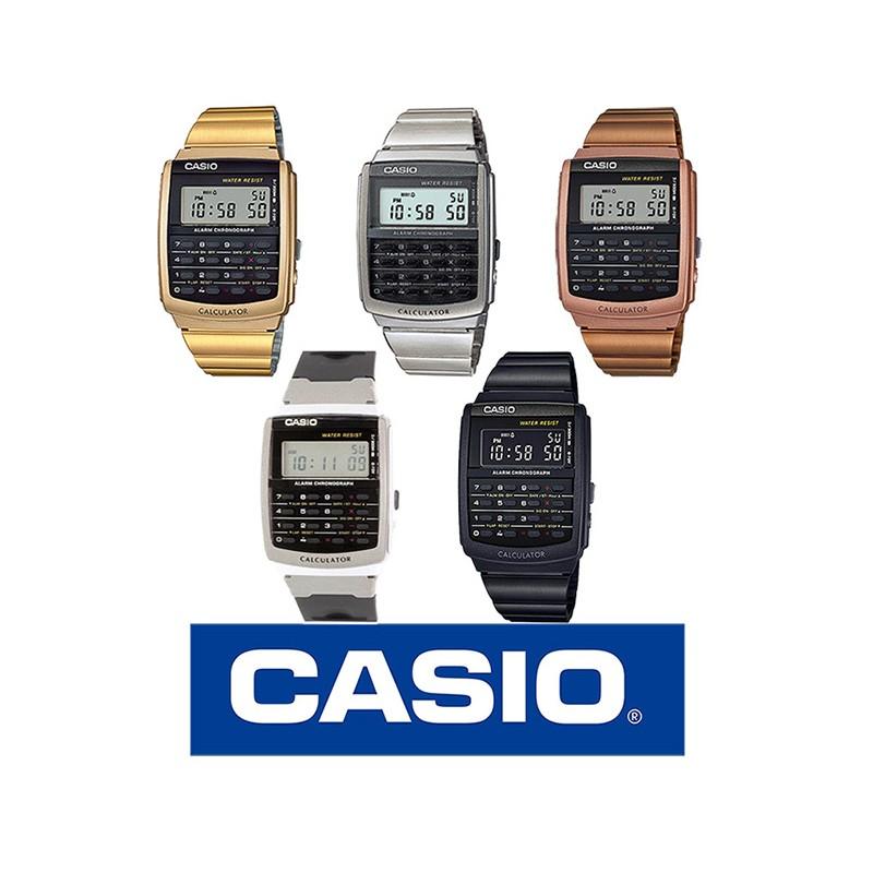 01f4d80534b4 Reloj CASIO retro metálico original A178WGA para mujer y para hombre