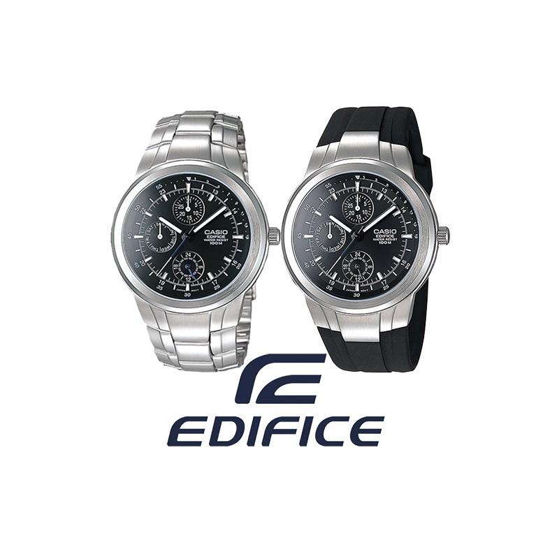 d09e6d9e02d3 Reloj CASIO Edifice Multiagujas original EF305 para jóvenes y hombres