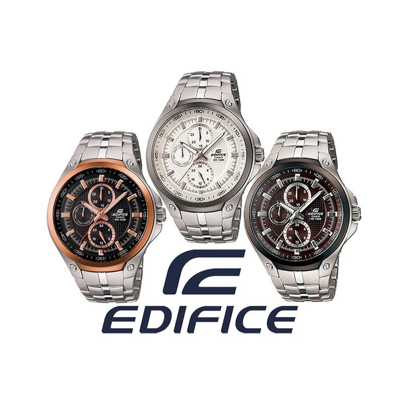 495a9dd87b3b Reloj CASIO Edifice Multiagujas original EF326D para jóvenes y hombres