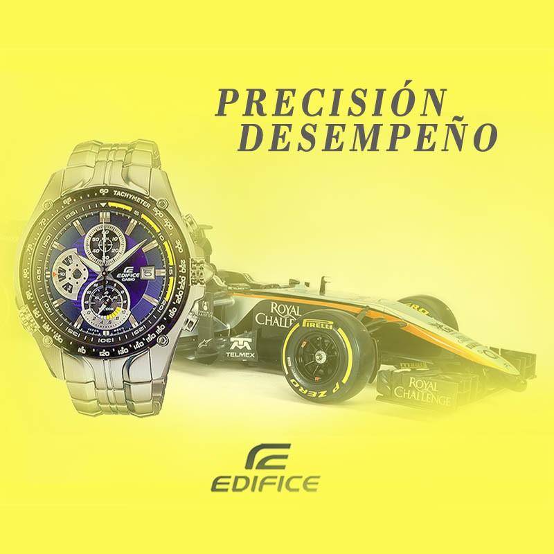9b97b8951d06 Reloj CASIO Edifice Cronógrafo original EF543D para jóvenes y hombres