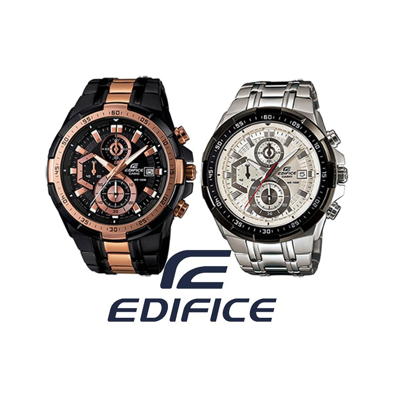 882b63af21f6 Reloj CASIO Edifice Cronógrafo original EFR539 para jóvenes y hombres