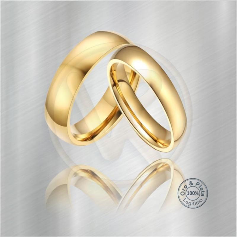 a5dd71070fe6 Argollas Acuario Matrimonio Compromiso Oro Plata para mujer y para ...