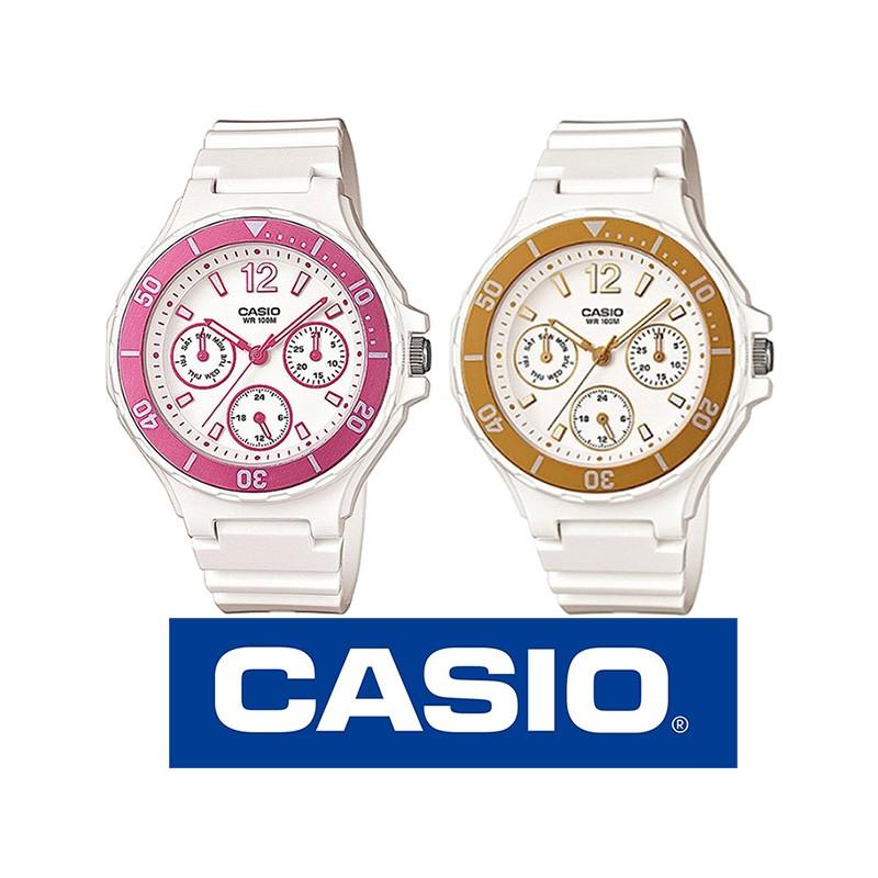 Jovencitas Resina Multiagujas Y Casio Reloj Lrw250h Para Mujer Original iuOPkXZ
