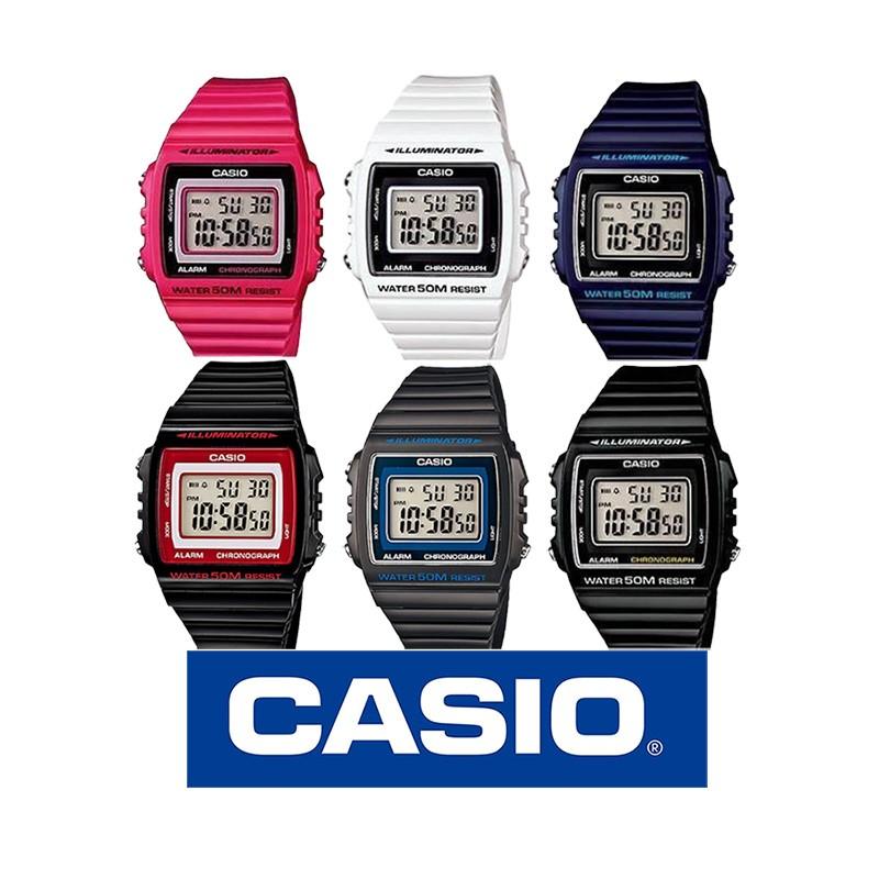 371e68e97229 Reloj Casio W215H digital colorido para mujer y jovencitas