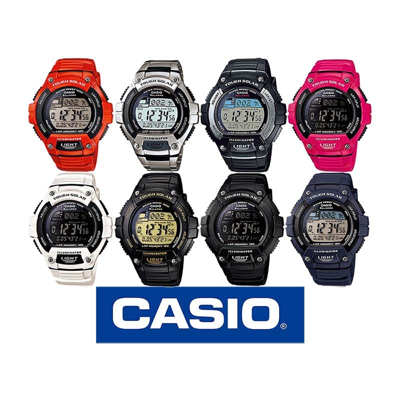 d87a0e75e955 Reloj CASIO original Illuminator WS220 para jóvenes y hombres en 8 ...