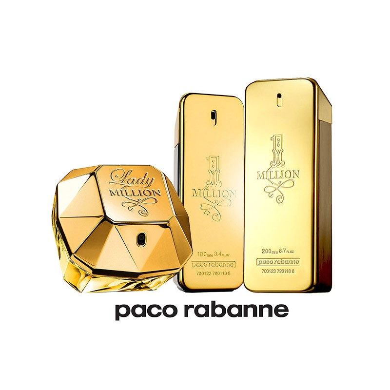 ccb8b54169 1 one million de paco rabanne y lady million para mujer y hombre edt ...