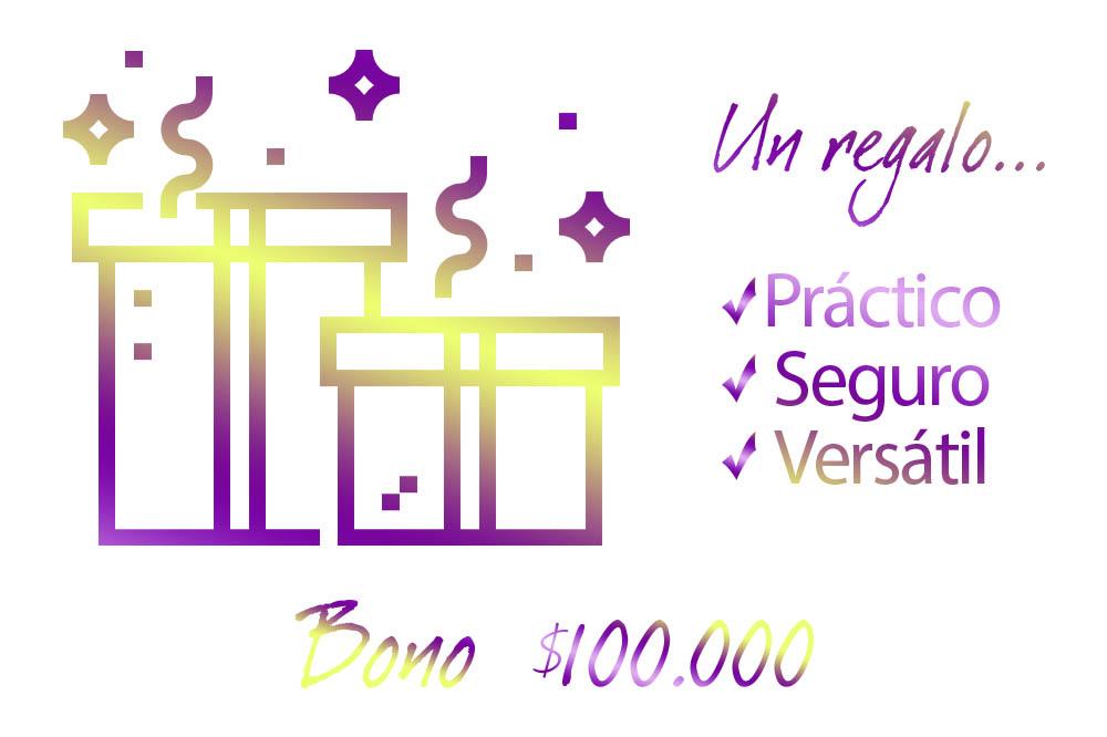 Bonos de regalo villarreal $100000 caja