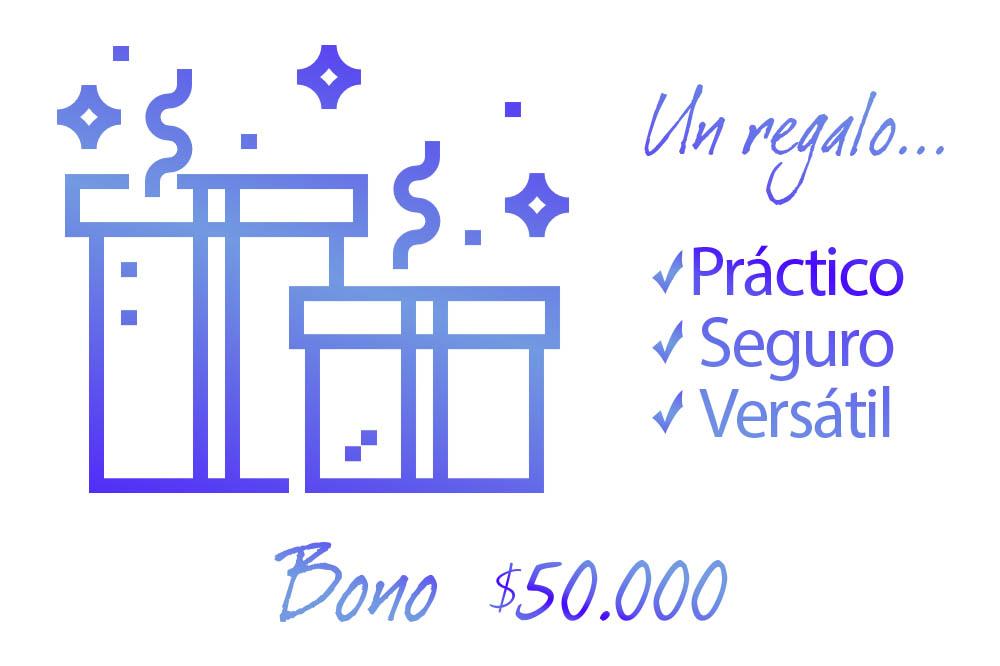 Bonos de regalo villarreal $50000 caja