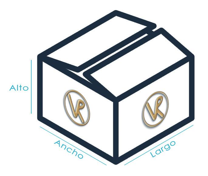 Dimensiones Paquete 2